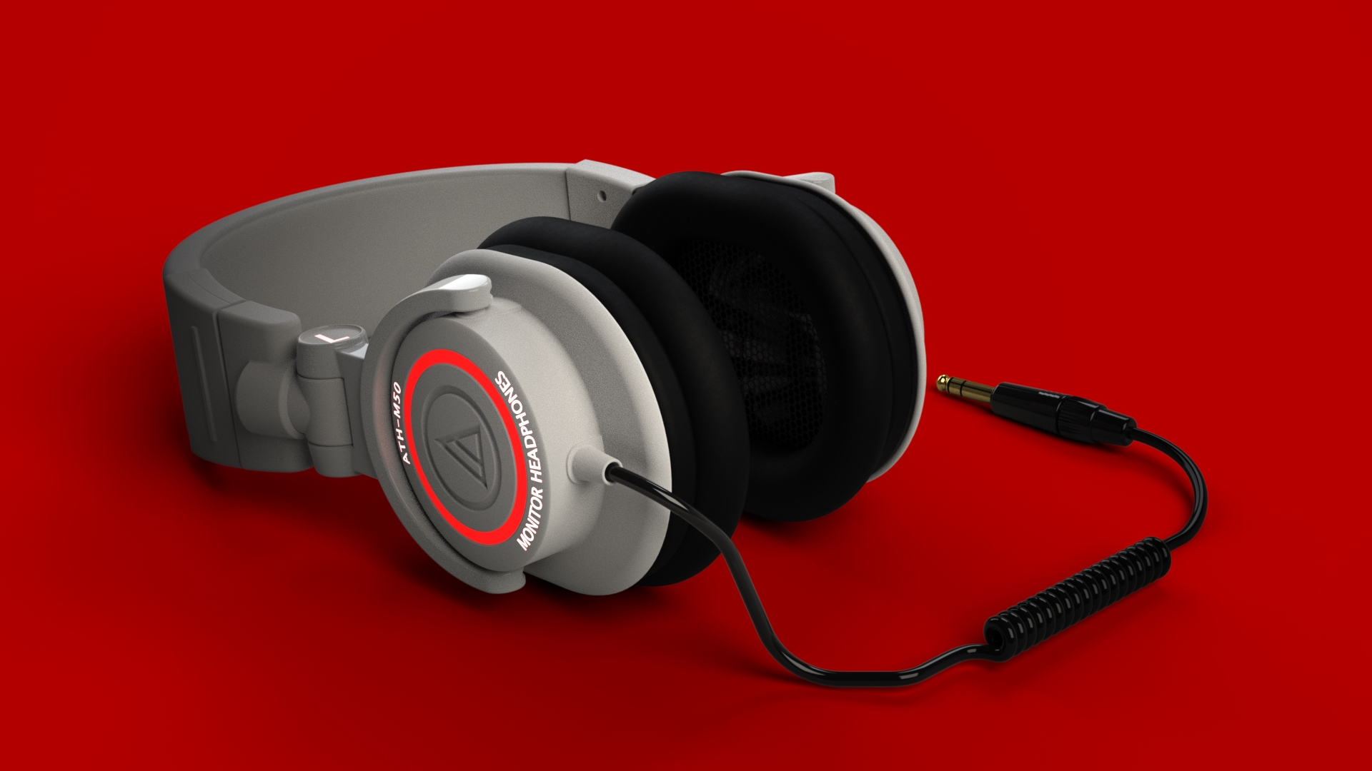 Render of headphones