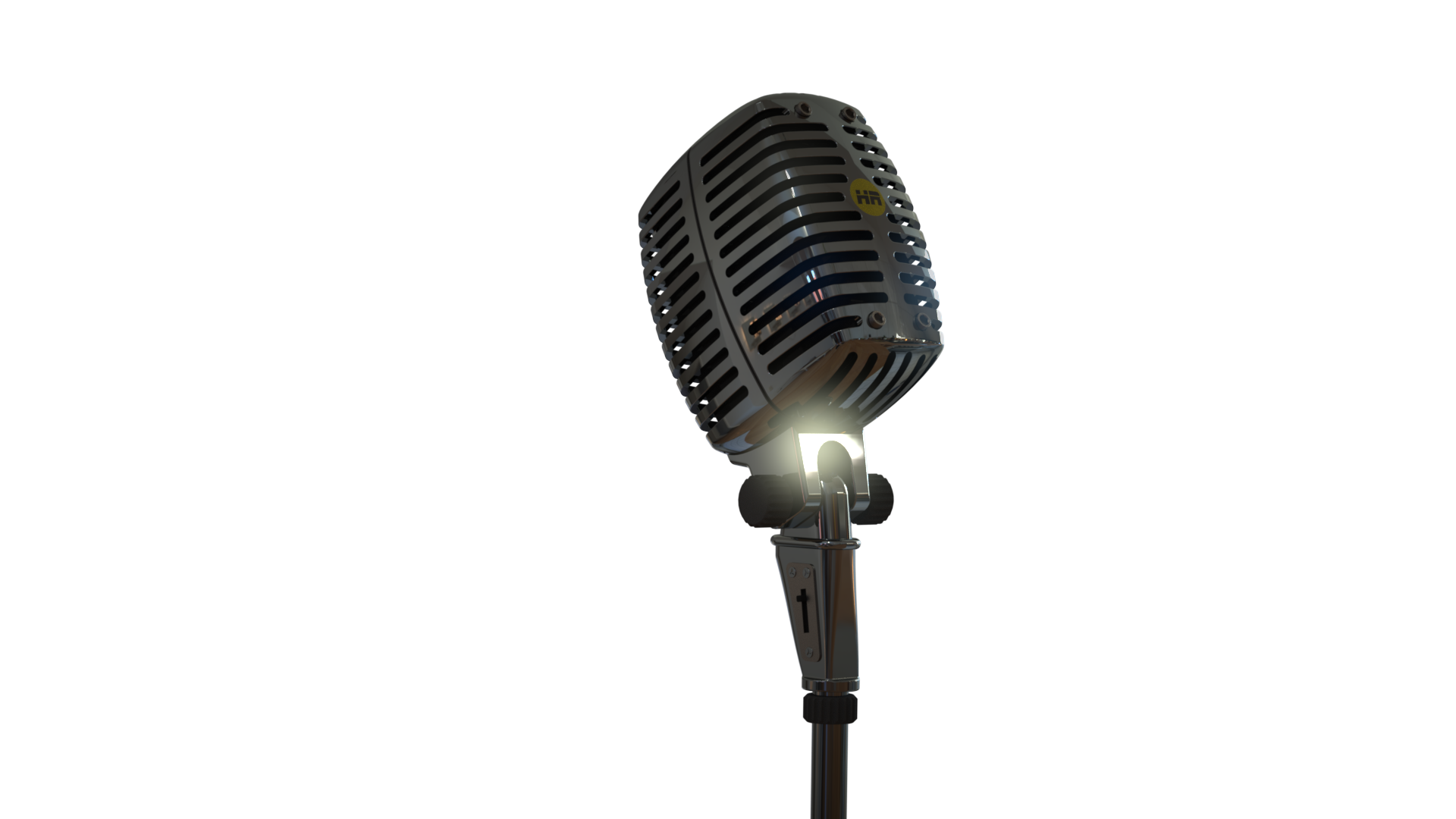 Render of microphone